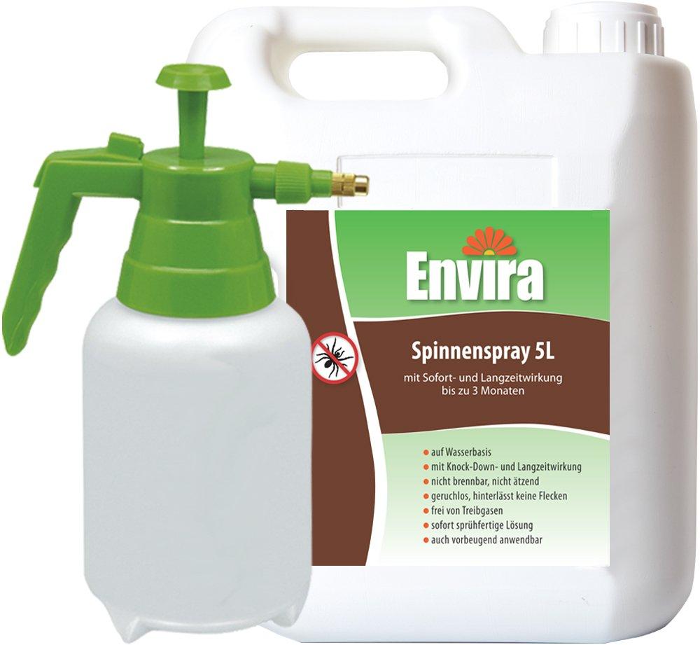 ENVIRA Spinnenabwehr 5Ltr+2Ltr Drucksprüher
