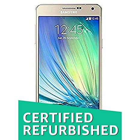 (Certified REFURBISHED) Samsung Galaxy A7 SM-A700FD (Gold) Smartphones at amazon