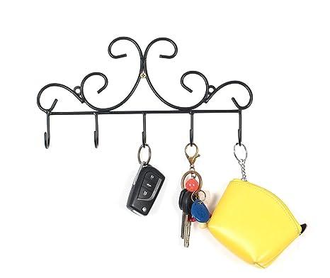 Amazon.com: Montado en la pared Ganchos de metal/Hangers ...