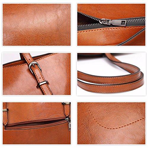 Handbags Designer ToLFE Bags Tote Ladies Bag and Red Shoulder Purses Womens Satchel FqRtZRX