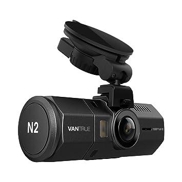[UPGRADED] Vantrue N2 Dual Dash Cam - 1080P Front and Rear Dual Lens Car Camera 1.5