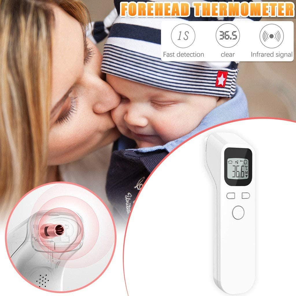 Digital Infrared Temperature Machine for Kid and Adult Trolimons Forehead Scanner Non-Contact with Instant Accurate Reading