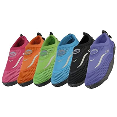 Wholesale Women's Aqua Socks water shoes pool beach yoga exercise 5-10 or 6-11