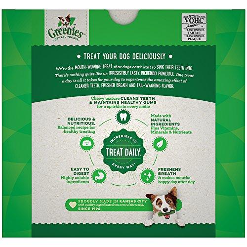 Large Product Image of Greenies Original Regular Size Dental Dog Treats, 36 oz. Pack (36 Treats)