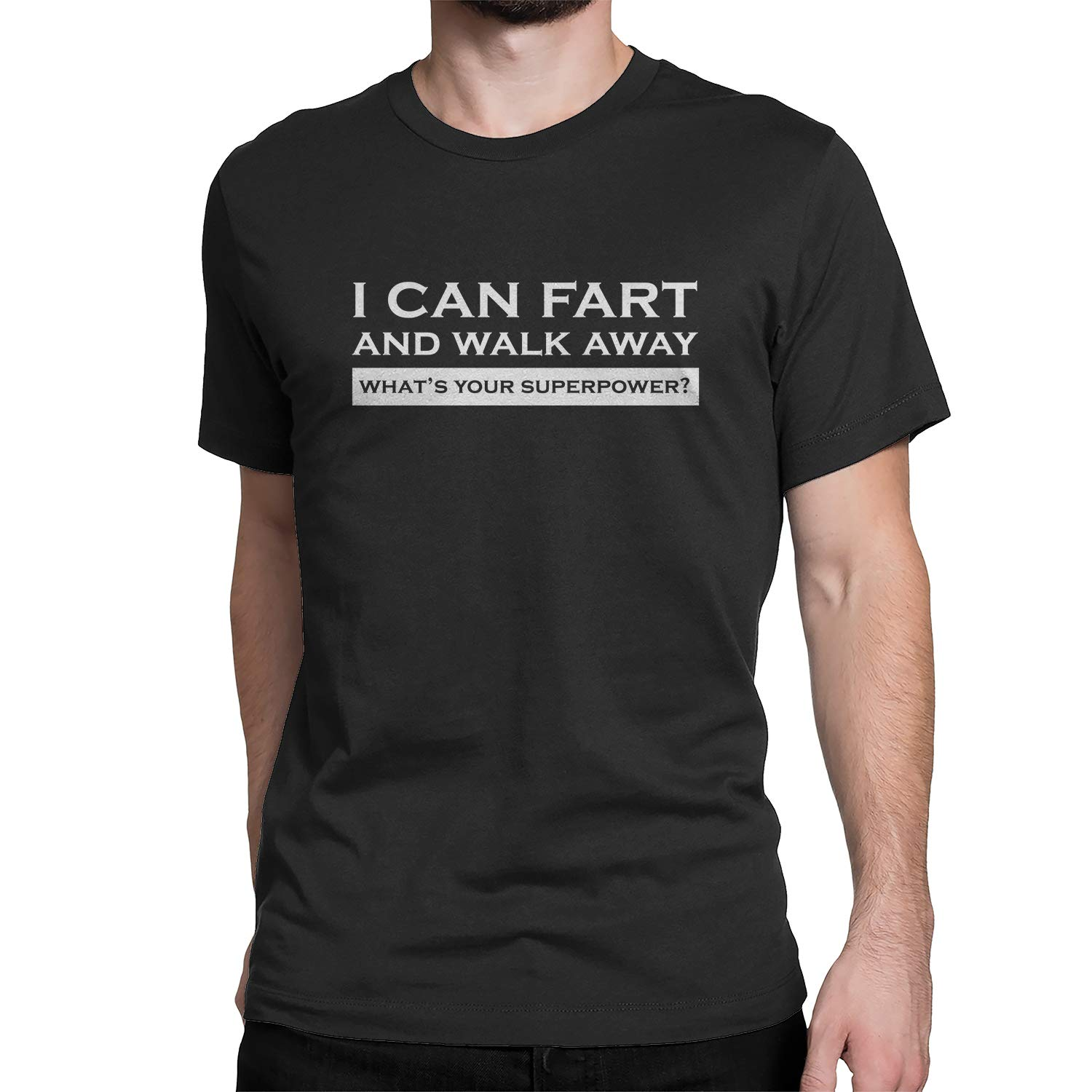 Zatelo I Can Fart and Walk Away Funny T-Shirt