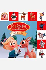Rudolph the Red-Nosed Reindeer Lift-the-Tab (Lift-the-Flap Tab Books) Board book