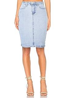 ce242e1c66ada8 Onado Jupe Femme en Jeans Mini Jupe Crayon Casual Courte Stretch ...
