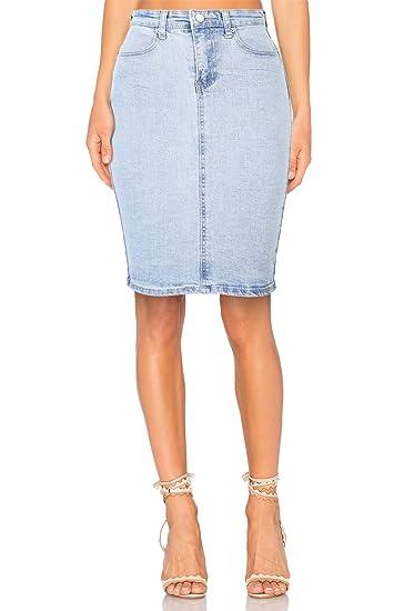 Jupe Taille Haute Mi Longue 5