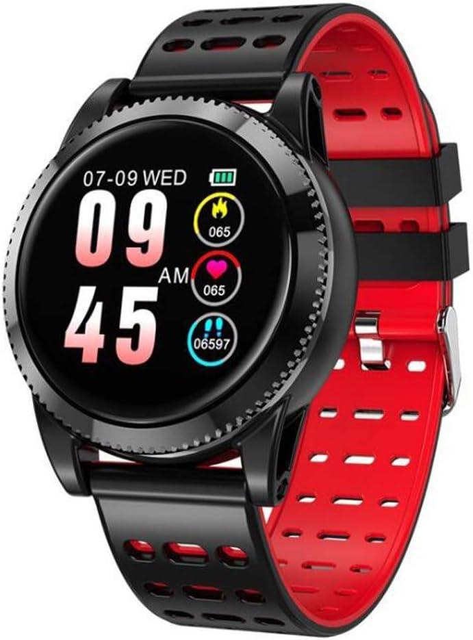 FXAOYWT Reloj Inteligente Bluetooth con Llamada/Mensaje sedentario recordatorio podómetro Reloj de Pulsera Compatible teléfonos Android iOS para Hombres Mujeres niños