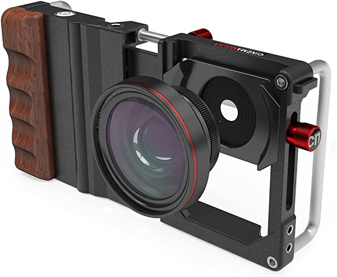 Koziro Cinema Mount for Smartphones with Wide Angle and Macro Lens, Graduated Filters: Amazon.es: Electrónica