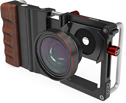 Koziro Cinema Mount for Smartphones with Wide Angle and Macro Lens ...