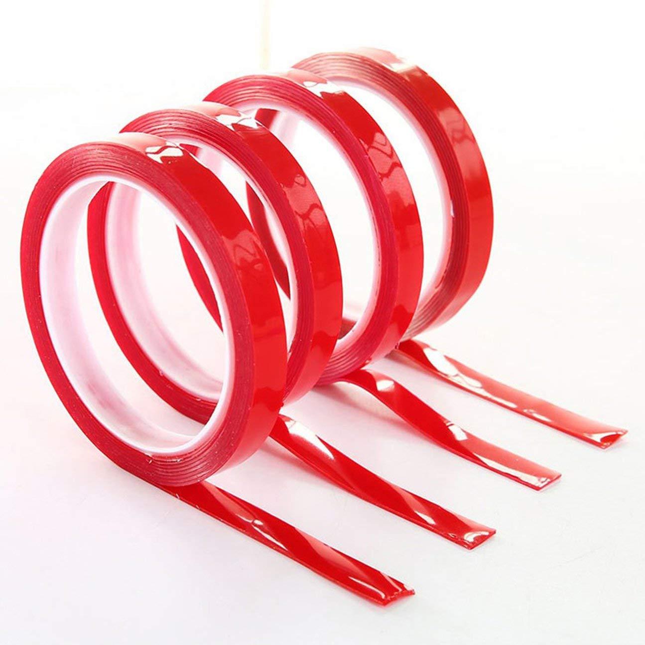 Adhesivo de doble cara adhesivo de espuma de acr/ílico adhesivo pegamento fortalecer la pasta de cinta para el coche accesorios de decoraci/ón del hogar