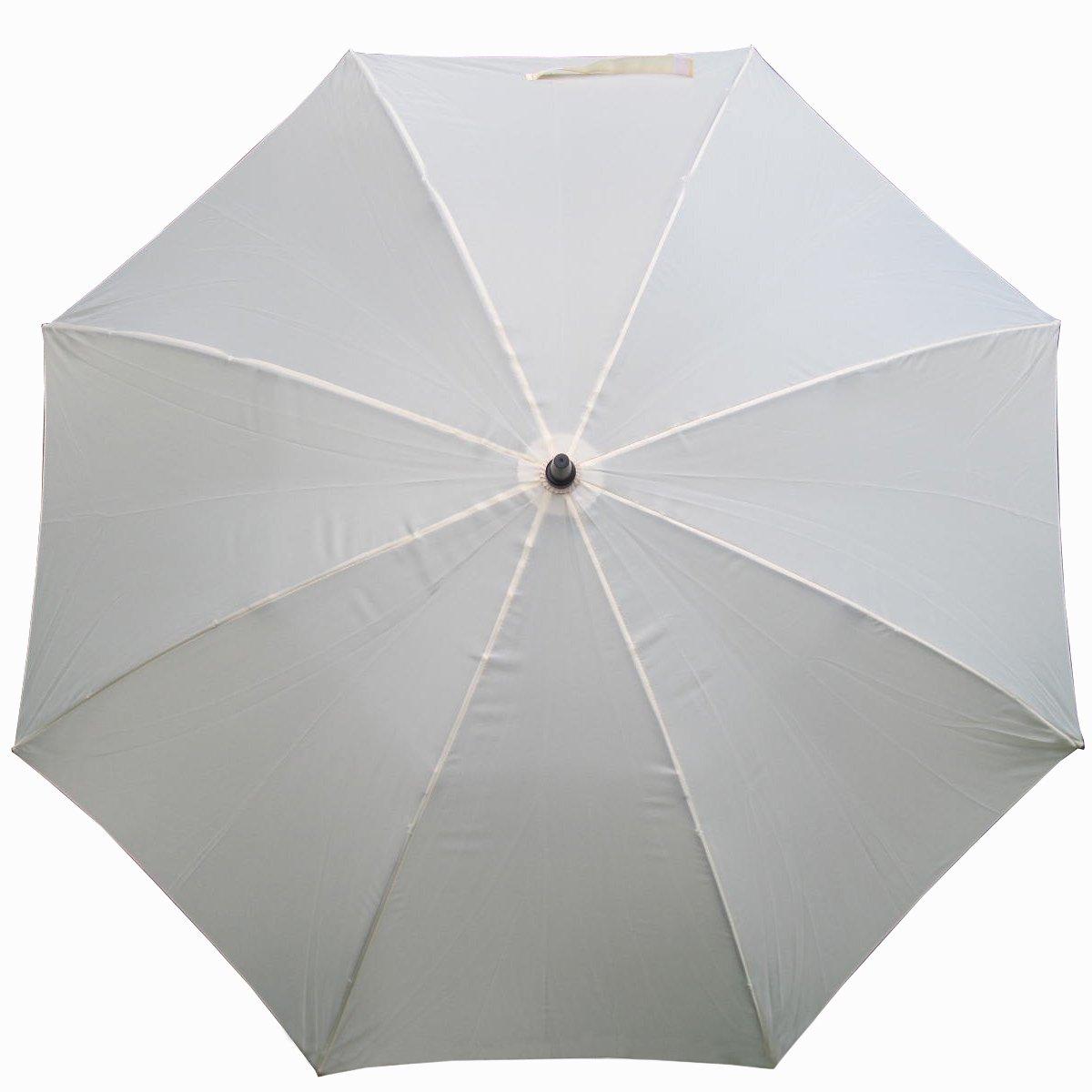 ウェディング傘ホワイトジャンボ68インチゴルフ傘   B0030VGQXG