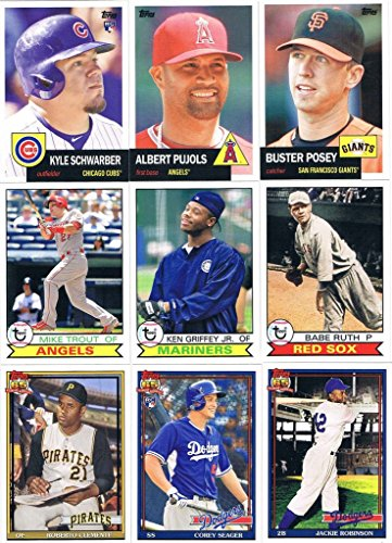 2016 Topps Archives Series MLB Baseball Complete Mint 300...