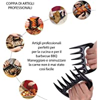 MisterConcreto Garras Tenedor de Carne para la manipulación