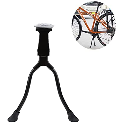Sporting Goods Two Leg Center Mount Road Bike Bicycle Foot Brace Cycling Side Stable Kick Stand Bicycle Accessories