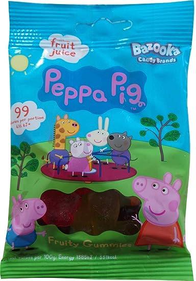 Peppa Pig Gummy Sweets - Bolsas para dulces (4.23 oz, 12 ...