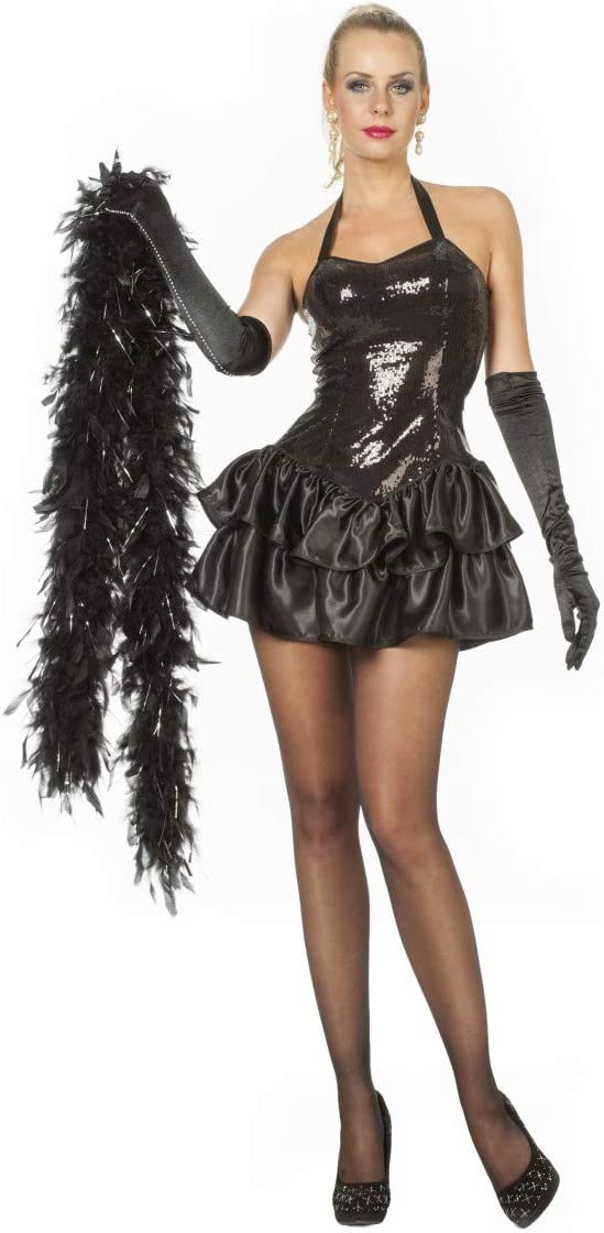 Farfouil en fête-CABARET con vestido DE falda DE satén, color ...