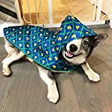 RC Pet Products Packable Dog Rain Poncho, Rubber Ducky, X-Large