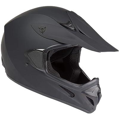 Raider RX1 Unisex-Adult MX Off-Road Helmet (Black, Small): Automotive