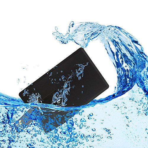 Usbkingdom 32GB USB 2.0 Flash Drive Black Credit Card Bank Card Shape Pen Drive Thumb Drives Memory Stick Pendrive Jump Drive Flash Disk