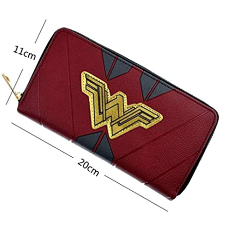 Wyaing Monedero Largo DC Wonder Women Monedero para Carteras ...