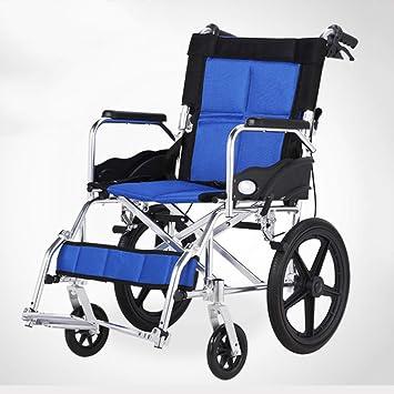 Amazon.com: Alloeliey - Silla de ruedas portátil y ...