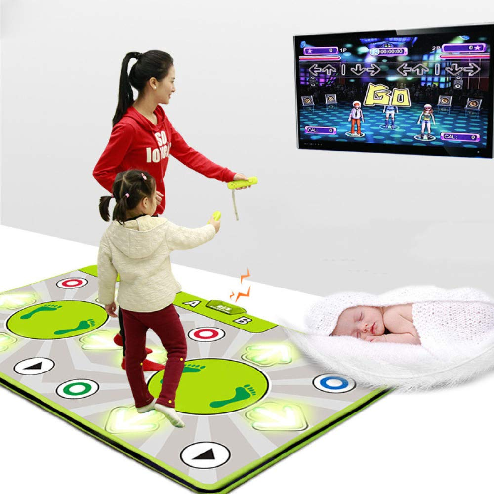 QXMEI Double 30MM Ultra-Thick Multifunctional Body Machine TV Dual-use Massage Dance Mat by QXMEI (Image #2)
