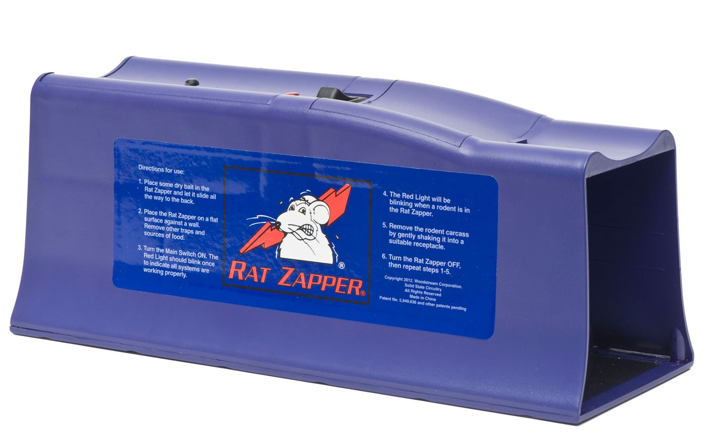 Rat Zapper Rzc001 Classic Trap 4 Pack Garden Short Circuit Current Ing Arc Flash Label Qty 5 Outdoor