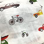 HGHG-Bamboo-Muslin-Swaddle-Blanket-Large-Silky-Soft-70-Bamboo-Fiber-30-Cotton-Multifunctional-Gauze-Blanket-47×47-Inches-Baby-Car-BlanketCar