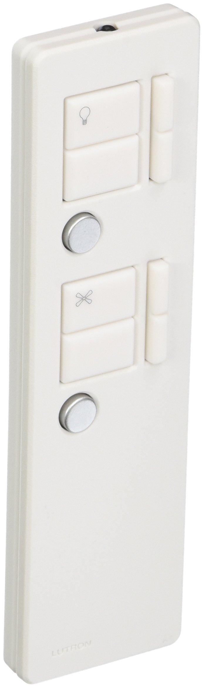Lutron Electronics Co. MIR-ITFS-LF-WH Maestro IR Fan/Light Remote Control, White