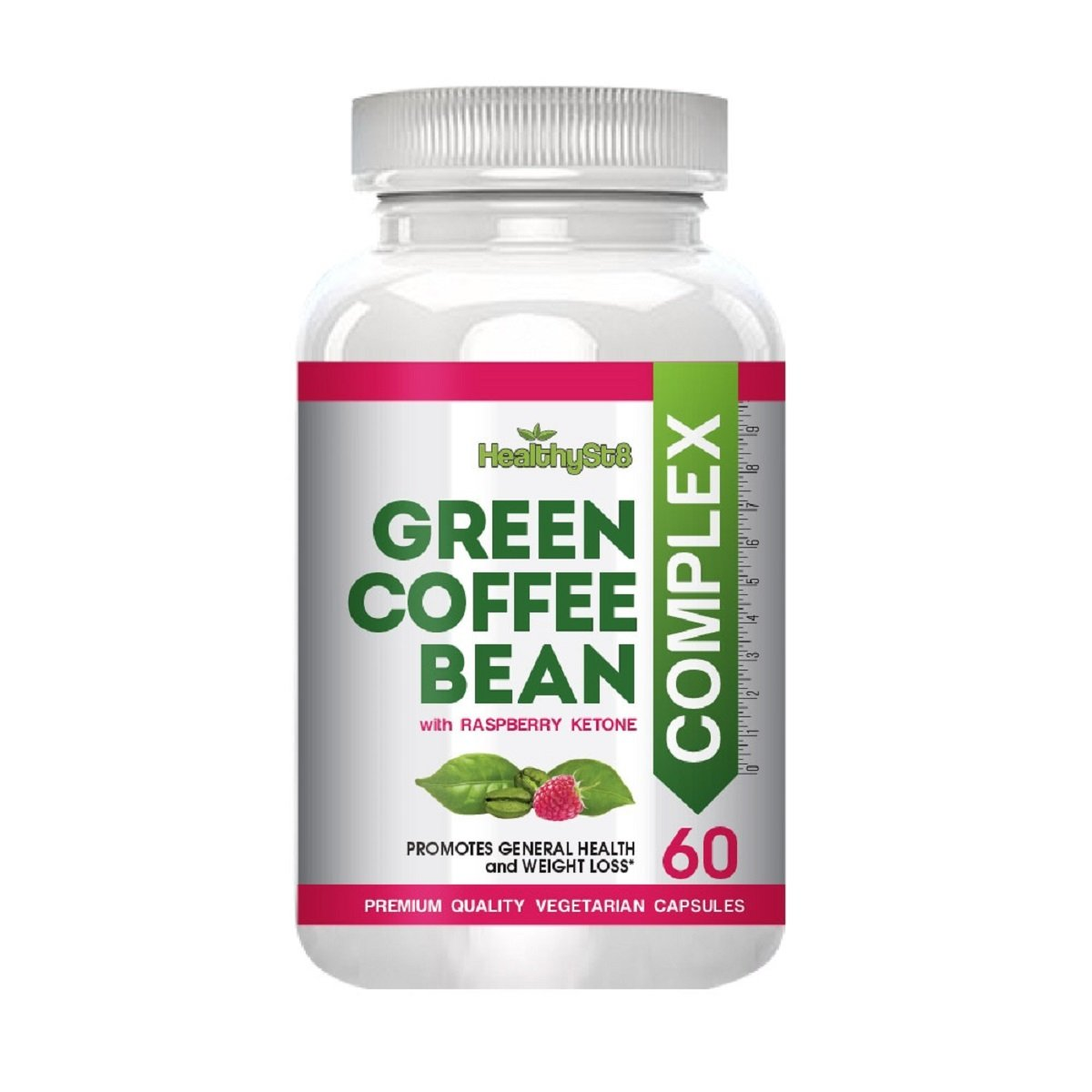 Amazon.com: Slimming Green Coffee Bean Complex with Raspberry Ketones Best Weight Loss Supplement Natural Fat Burner Appetite Suppressant That Works ...