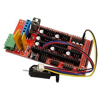 sharplace tarjeta de control RAMPS 1.4 apta para impresoras 3d ...