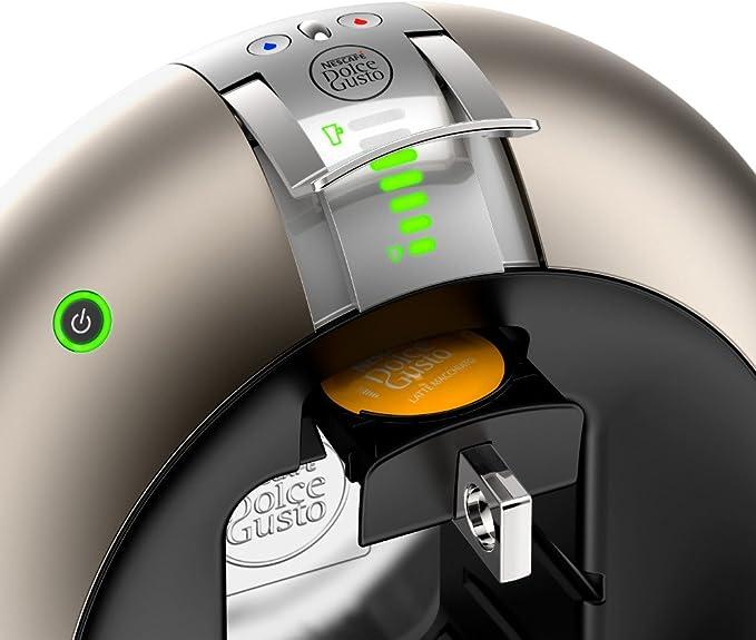 Krups Dolce Gusto Circolo - Máquina de café (Automática, Flow Stop, 15 bar) Titan: Krups: Amazon.es: Hogar