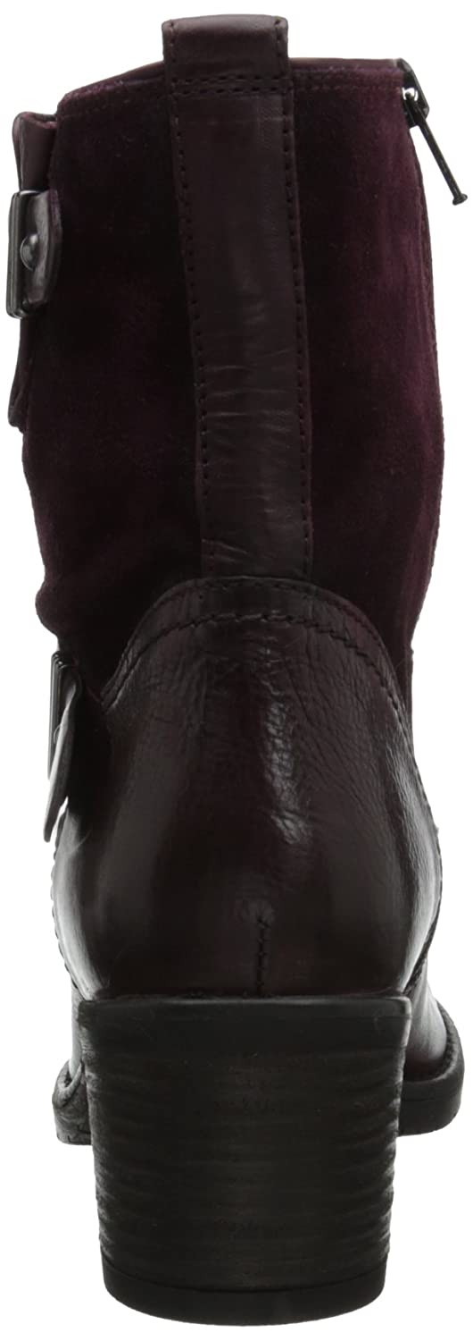 Amazon.com | CLARKS Women's Mojita Sorbet, Burgundy Leather, 6 M US | Ankle  & Bootie