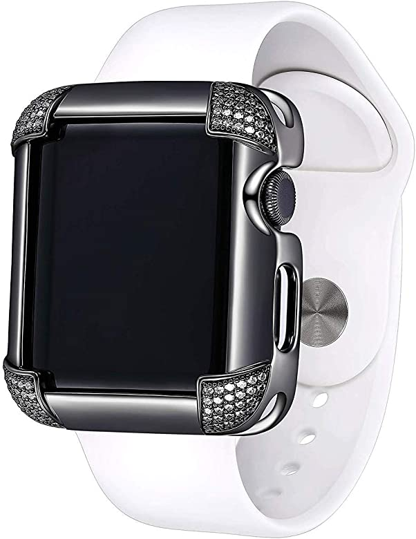 SkyB Funda para Apple Watch de Oro de 14 K o 18 K chapada en ...