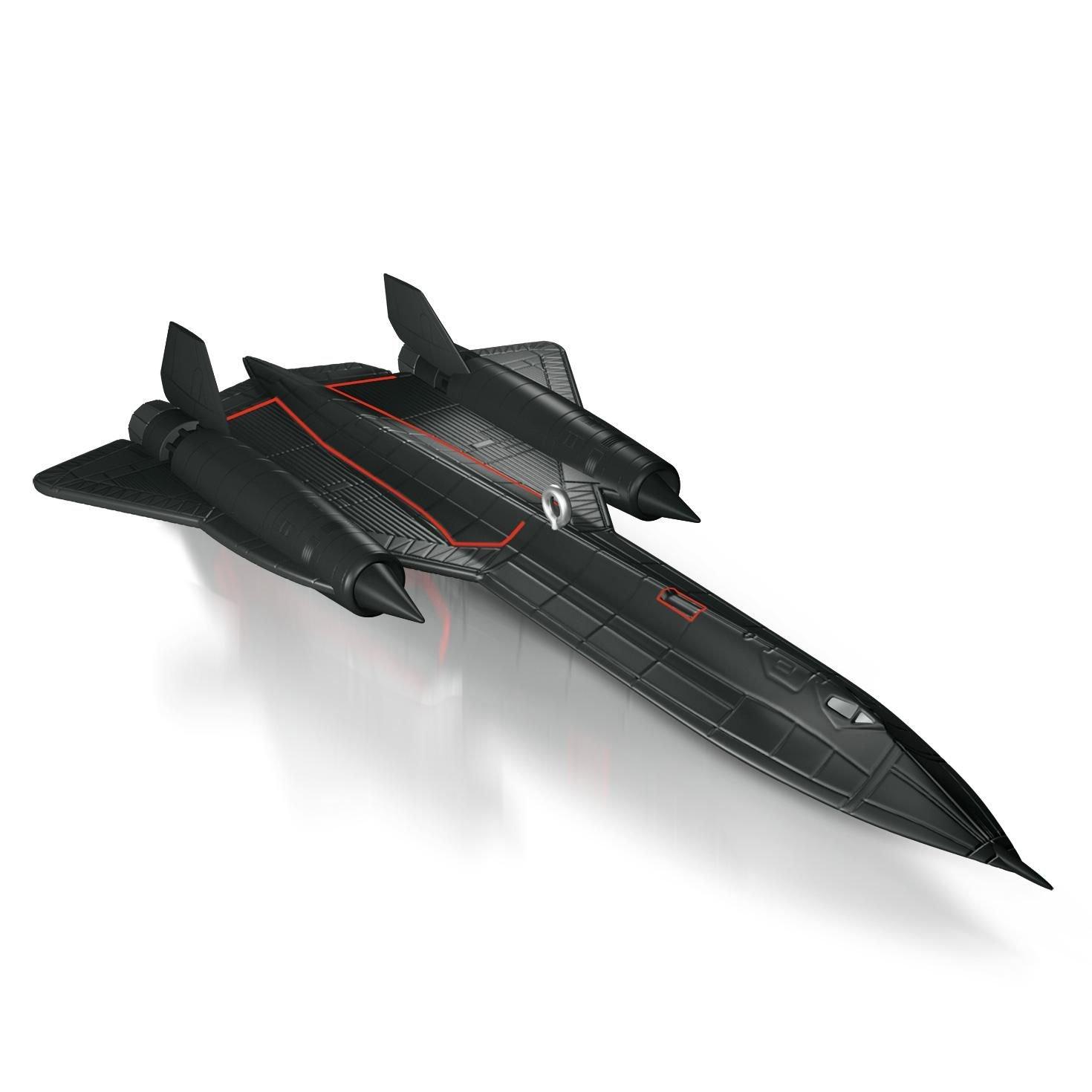 Amazon.com: Hallmark 2014 Lockheed SR-71 Blackbird Aircraft Ornament: Home  & Kitchen