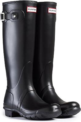 Hunter Womens Org Tall Wellington Boots