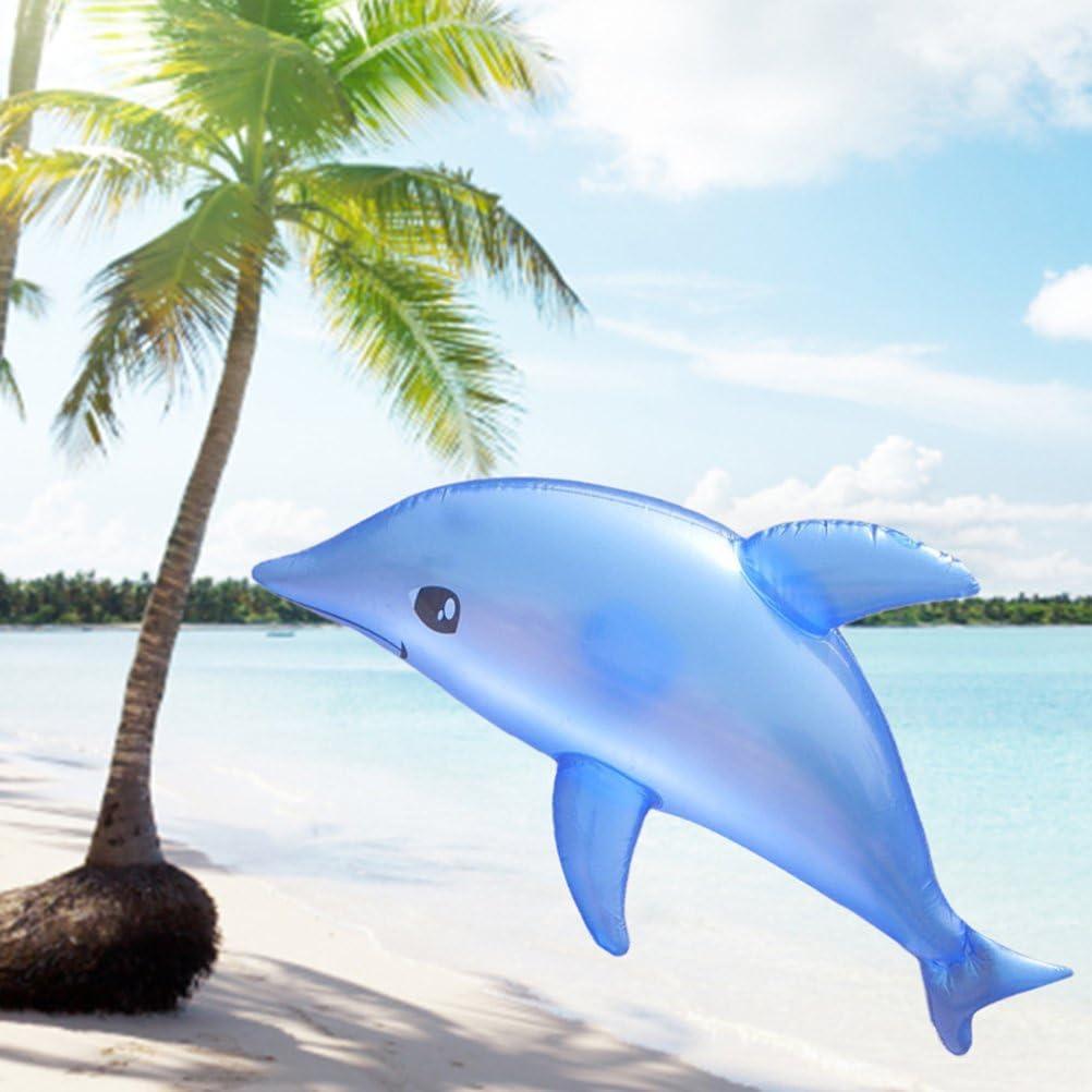 TOYANDONA Tres Delfines inflables,Lindos,livianos y Resistentes,Fiestas de Delfines sin Veneno,Piscina Playa,ba/ños.