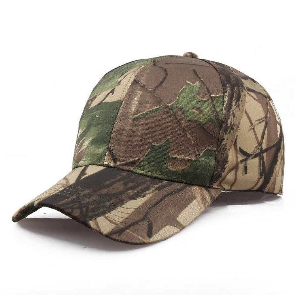 Tanlo 2019 Unisex Women Men Summer Outdoors Camouflage Visor Baseball Cap Adjustable Hat Dad Hats (A, Size:Adjustable) by Tanlo (Image #2)