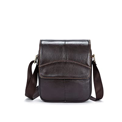 cheap Real Leather Vintage Retro Messenger Bag Laptop Bag Briefcase Satchel bagShoulder Bag
