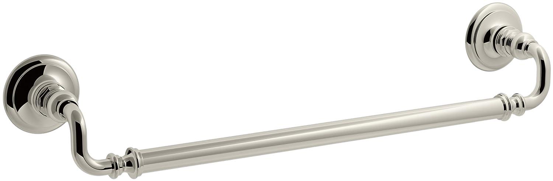 (Polished Nickel) Kohler 72567-SN Artefacts 46cm Towel bar, Vibrant Polished Nickel B00FOMHDZOVibrant Polished Nickel
