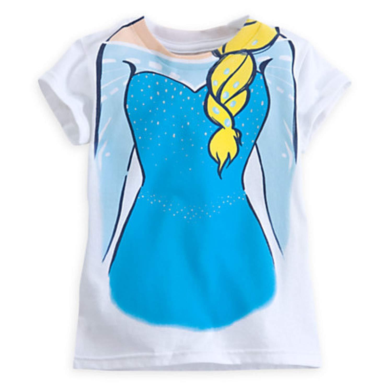 Disney Girls Elsa Costume Tee for Girls (4)