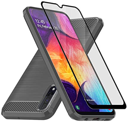 Amazon.com: Funda para Samsung Galaxy A50, con protector de ...
