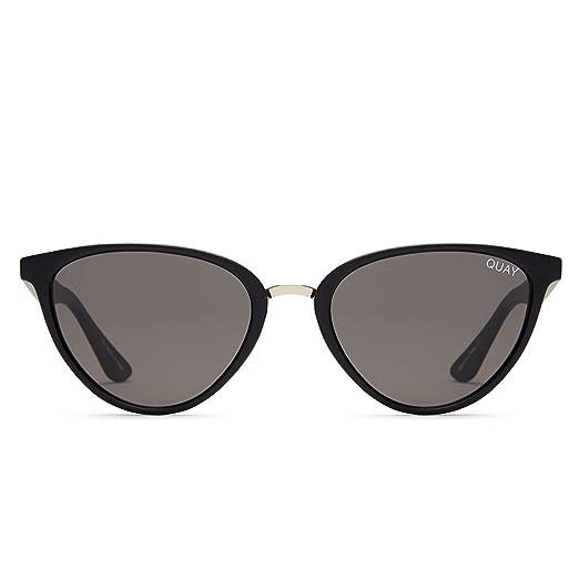 49232e5e74 Quay Australia RUMOURS Women s Sunglasses Almond Shaped Sunnies - Black  Smoke