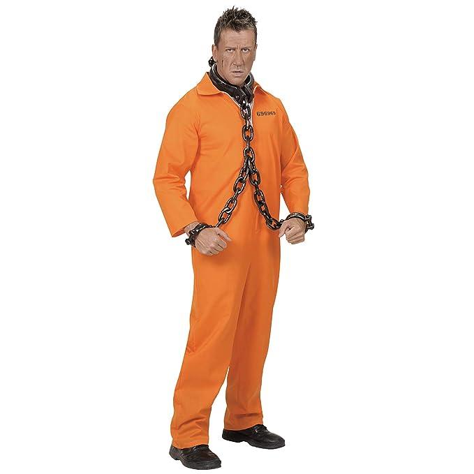 WIDMANN Widman - Disfraz de preso para Hombre, Talla M (58422)