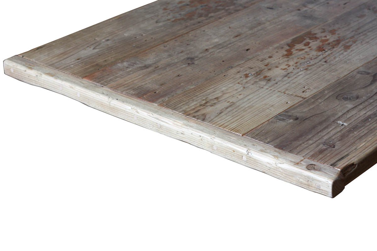 OLD ASHIBA(足場板古材)フリー板(幅つなぎ材) 厚35×幅770(4枚あわせ)×長さ1260mm 無塗装 B075ZNSWW4 長さ1260mm 長さ1260mm