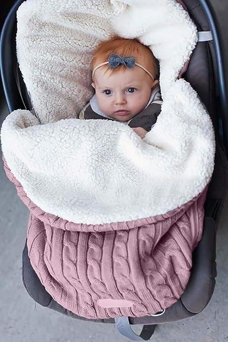 Surenhap Bebé Saco de Dormir 68 x 38 cm Manta Swaddle Saco de Dormir para bebés