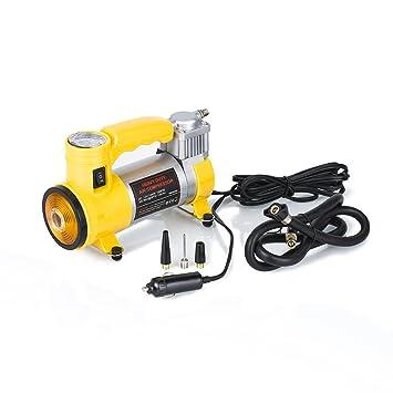 Amazon.es: Compresor de aire eléctrico, de la marca Zipom, automático y portátil, de DC 12 V, inflador de neumáticos, 150 PSI (hasta 35 litros/min)