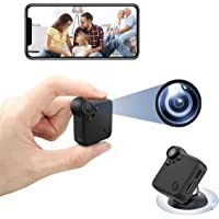 Mini Spy Camera Wireless Nanny Cam with Night Vision & Motion Detection Small Home Security Surveillance Cameras 1080P…